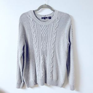 Jeanne Pierre Grey Sweater